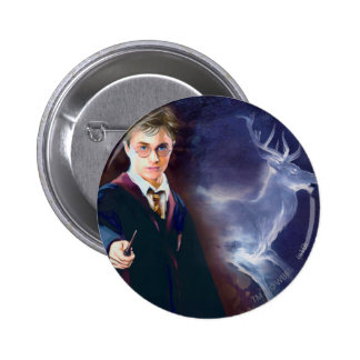 Harry Potter's Stag Patronus 2 Inch Round Button