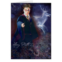 Harry Potter's Stag Patronus Card