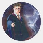 Harry Potter's Stag Patronus Classic Round Sticker