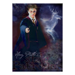 Harry Potter's Stag Patronus Posters