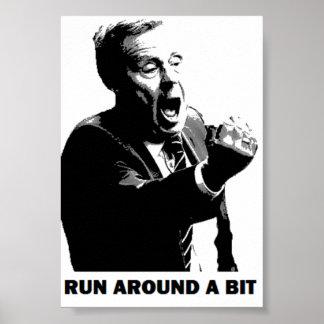 Harry Redknapp - Run Around a Bit Poster