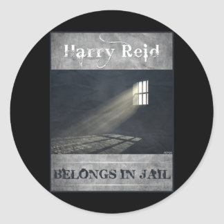 Harry Reid Classic Round Sticker