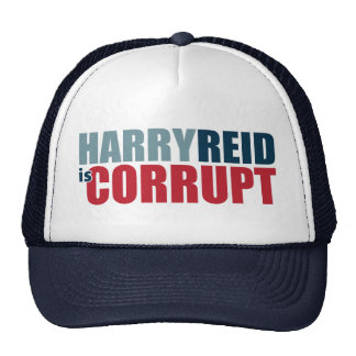 Harry Reid es corrupto Gorros Bordados