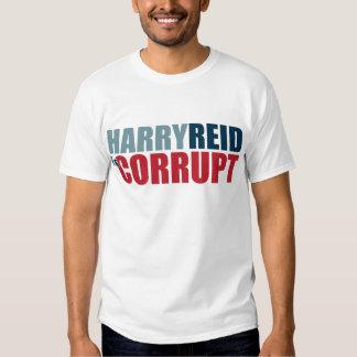 Harry Reid es corrupto Poleras