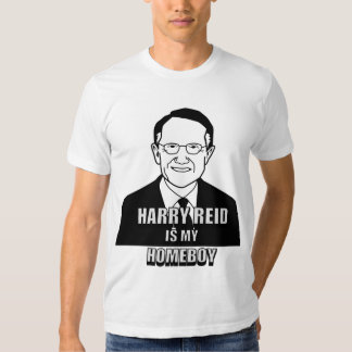 ¡Harry Reid es mi Homeboy! Camisas