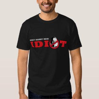 Harry Reid es un idiota Camisas