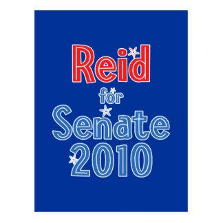 Harry Reid for Senate 2010 Star Design Postcard