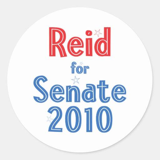 Harry Reid for Senate 2010 Star Design Stickers