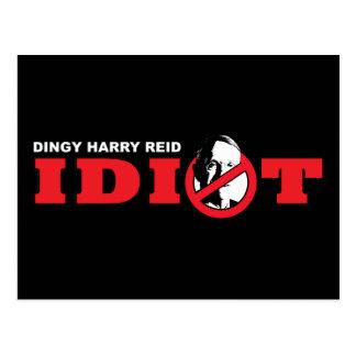 Harry Reid is an Idiot Postcard