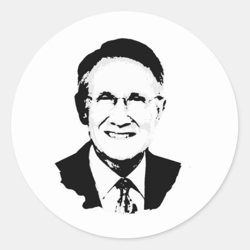 Harry Reid Round Sticker