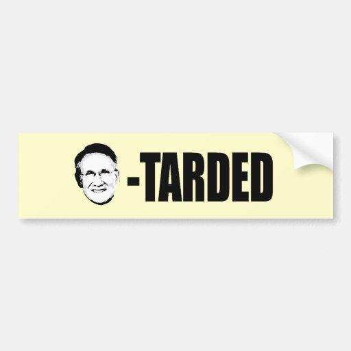 Harry Reid-tarded Car Bumper Sticker