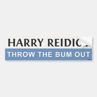Harry Reidiot Etiqueta De Parachoque