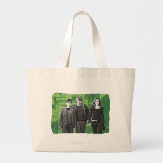 Harry, Ron, and Hermione 1 Large Tote Bag