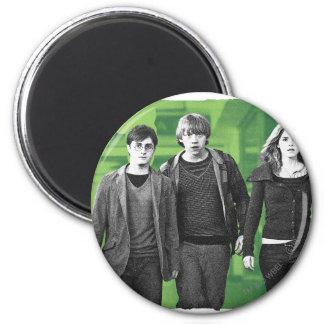 Harry, Ron, and Hermione 1 2 Inch Round Magnet