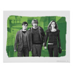 Harry, Ron, and Hermione 1 Poster