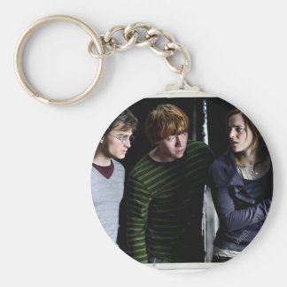 Harry, Ron, and Hermione 4 Keychain