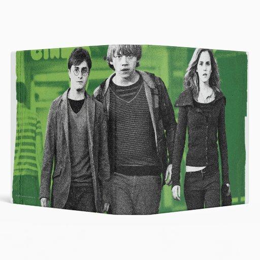 """Harry, Ron, y Hermione 1 Carpeta 1 1/2"""""""