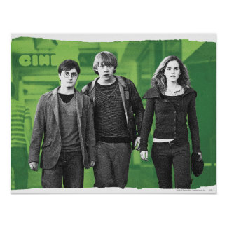 Harry, Ron, y Hermione 1 Poster