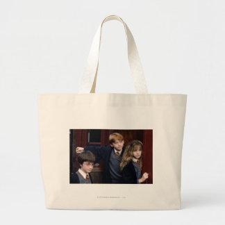 Harry, Ron, y Hermione Bolsa Tela Grande