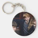 Harry, Ron, y Hermione Llavero Redondo Tipo Pin