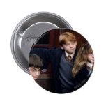 Harry, Ron, y Hermione Pin Redondo De 2 Pulgadas