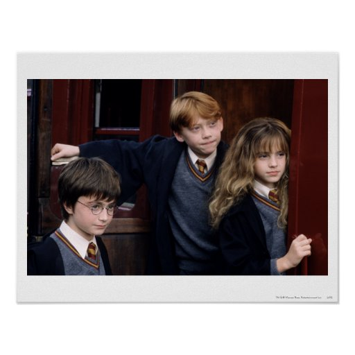 Harry, Ron, y Hermione Póster