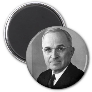 Harry S. Truman 33rd President 2 Inch Round Magnet