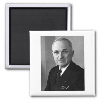 Harry S. Truman 33rd President 2 Inch Square Magnet
