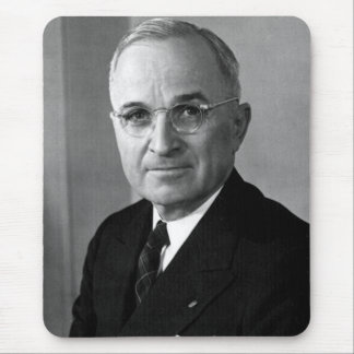 Harry S. Truman 33rd President Mouse Pad