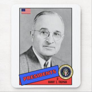 Harry S. Truman Baseball Card Mouse Pad