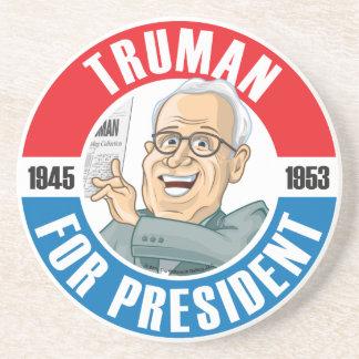 Harry S. Truman Campaign Coaster