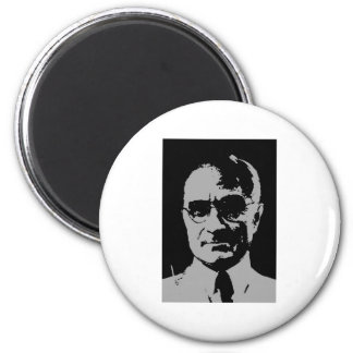 Harry S. Truman silhouette 2 Inch Round Magnet