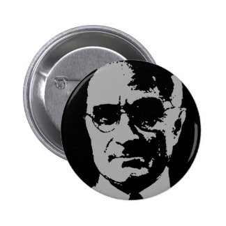 Harry S. Truman silhouette 2 Inch Round Button