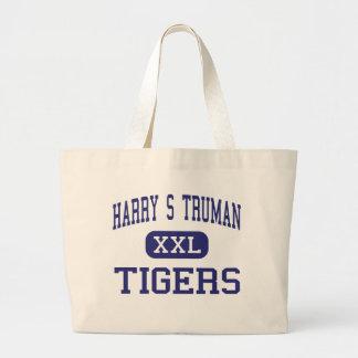 Harry S Truman Tigers Middle Saint Joseph Jumbo Tote Bag