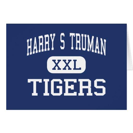 Harry S Truman Tigers Middle Saint Joseph Greeting Card