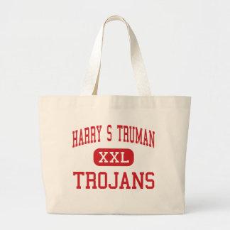Harry S Truman - Trojans - Middle - Grand Prairie Jumbo Tote Bag
