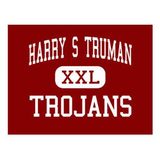 Harry S Truman - Trojans - Middle - Grand Prairie Postcard
