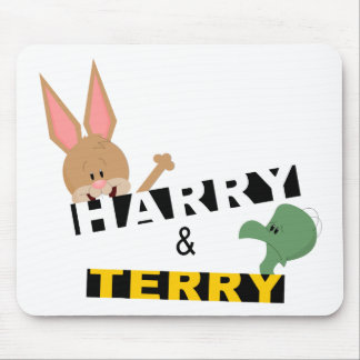 Harry & Terry Mouse Pad