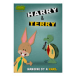 Harry & Terry Posters