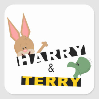 Harry & Terry Stickers