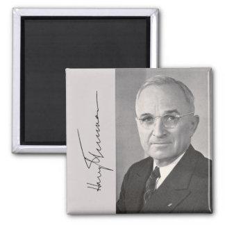 Harry Truman 2 Inch Square Magnet