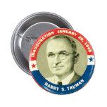 Harry Truman - botón Pin Redondo De 2 Pulgadas