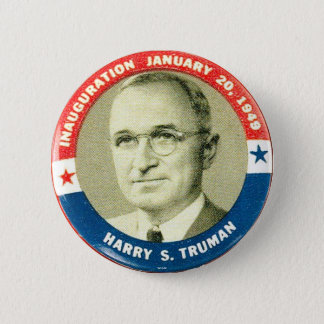 Harry Truman - Button