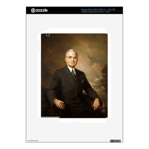 Harry Truman Decals For iPad 3