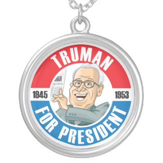 Harry Truman For President Necklace
