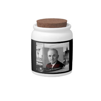 "Harry Truman ""Gave No Hell"" Wisdom Quote On Kitche Candy Dish"