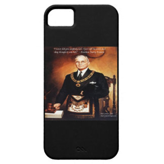Harry Truman & Give 'Em Hell Quote iPhone 5 Case