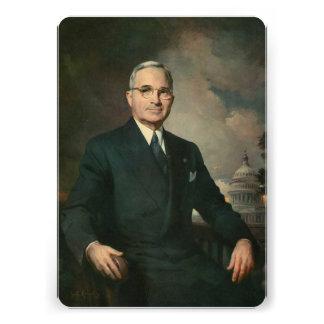 Harry Truman Custom Invites