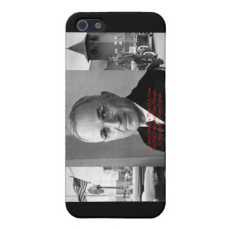 """Harry Truman """"Never Gave Hell"""" Wisdom Quote Gifts Case For iPhone SE/5/5s"""