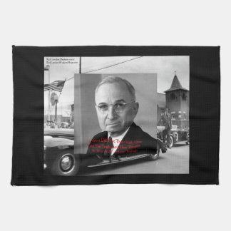 """Harry Truman """"no dio cita de la sabiduría de ningú Toalla De Cocina"""